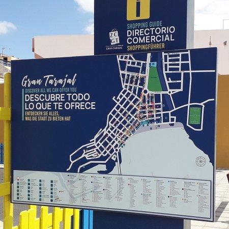 Gran Tarajal, España: Map