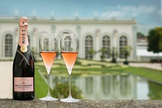 Epernay, Francja: Rosé Impérial @l'orangerie