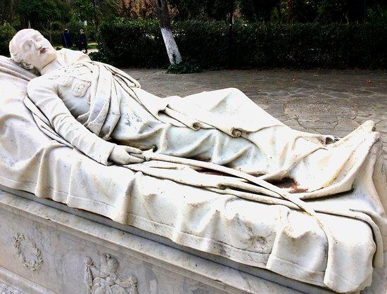 Sculpture Of Reclining Figure