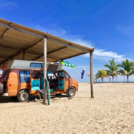 La Saladita, Mexico: In Mexico on the way to Costa Rica