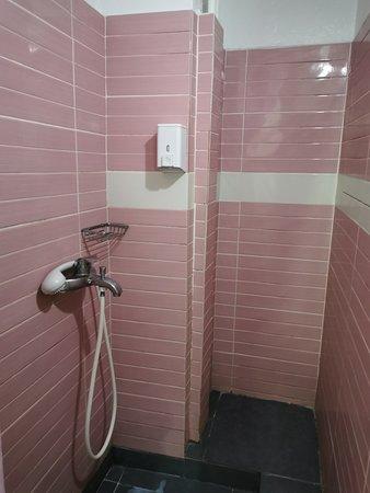 A shared shower.