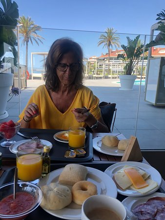 Breakfast at Me Sitges....amazing!!!!