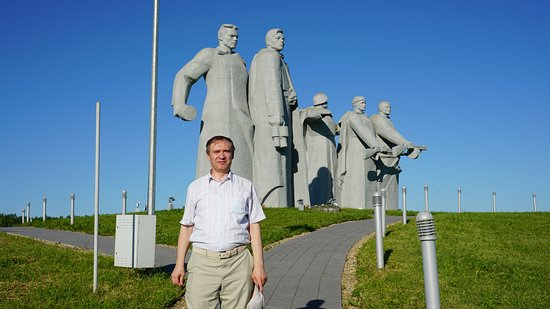 Volokolamsky District, Rusia: На фоне скульптур