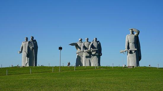 Volokolamsky District, Rusia: Скульптурная группа