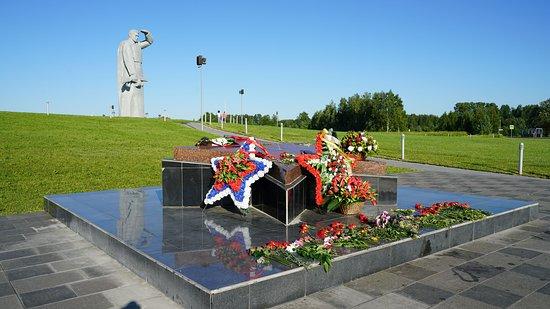 Volokolamsky District, Rusia: Вечная память - в цветах и венках