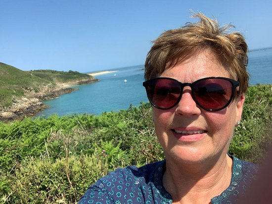 I visited Herm Island in June 2020, The Bailiwick of Guernsey (includes Herm Sark and Alderney) has been Covid virus free for 50+ days,so we are able to travel within this Bailiwick now.  It was a scorching and beautiful day, Jackie