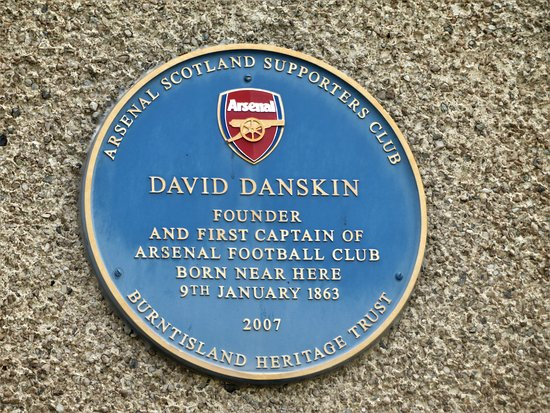 David Danskin Commemoration Plaque