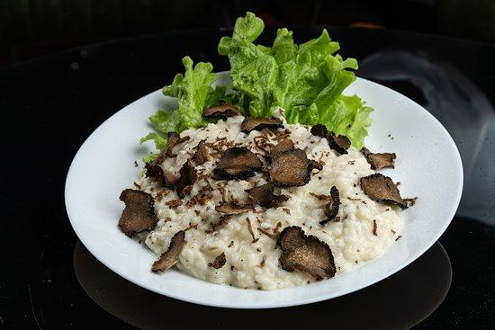 risotto al parmigiano e tartufo