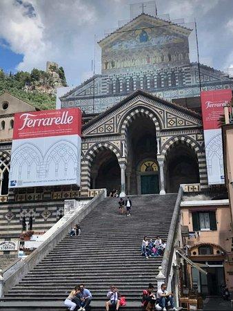 Amalfi, Itália: la facciata