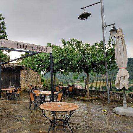 Restaurant Casa Alfonso     Plaza Mayor Ainsa