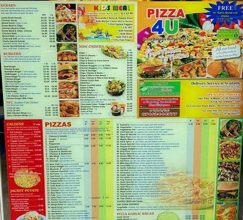 Order online at pizza4uripley.com