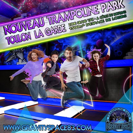 Trampoline Park Gravity Space La Garde