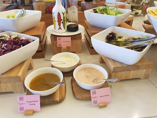 example of 1 day eating here- Dinner salads/condiments