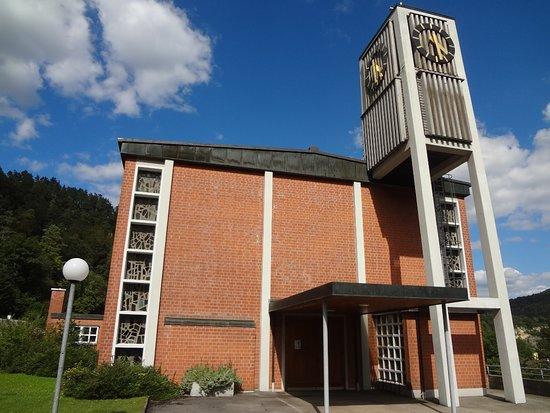 Kirche Oberrüti (bruder Klaus Kapelle)