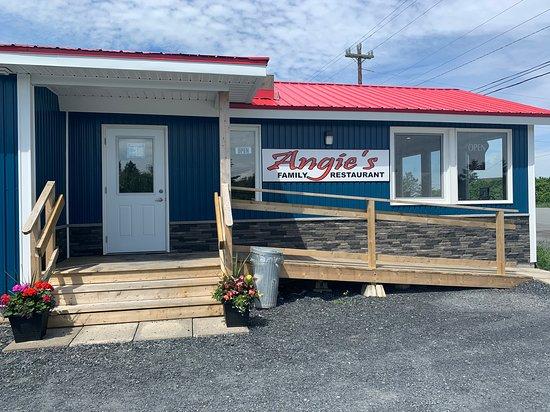 Angie's Main entrance
