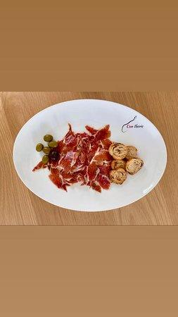 Plato de jamón de Bellota