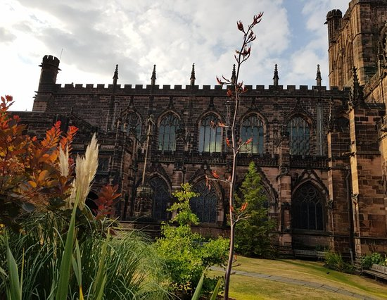 Chester Cathedral Gardens