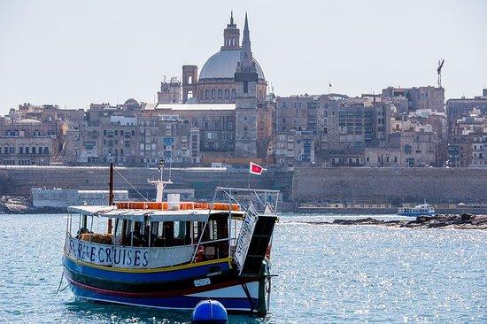 Valletta og The Three Cities Harbour Cruise