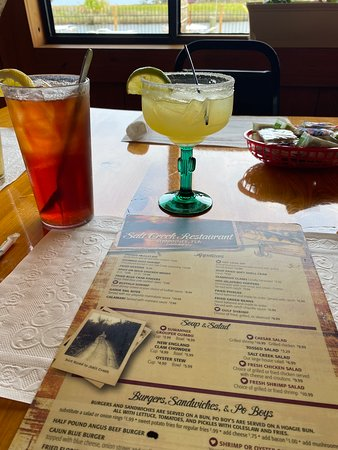 Suwannee, FL: Great menu