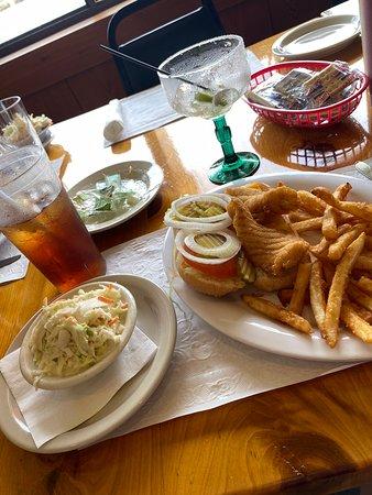 Suwannee, FL: Fried Grouper.