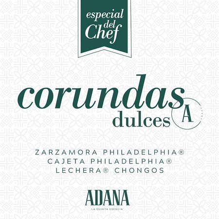 Corundas Dulces Adana