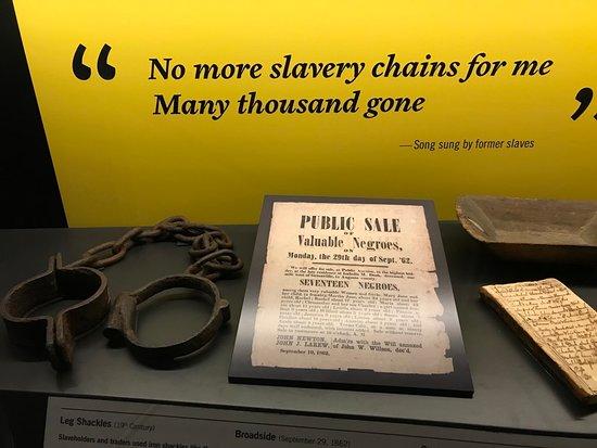 American Civil War Museum- Historic Tredegar: Example of exhibit