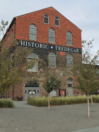 American Civil War Museum- Historic Tredegar: Historic Tredegar Iron works building at ACWM