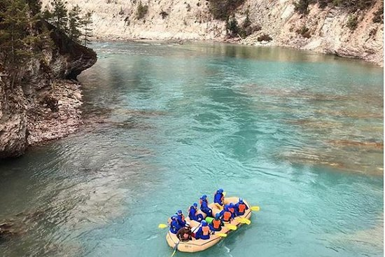 Rafting en eau vive sur la rivière Kootenay - demi-journée