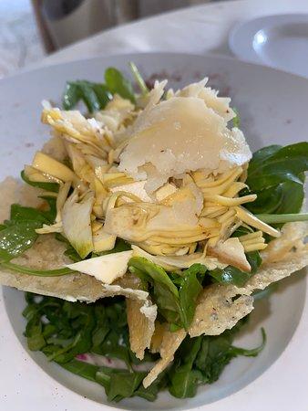 baby artichokes salad - mouth-watering delicious!!