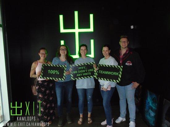 Thank you for visiting @ExitKamloops this past week! We look forward to seeing you again very soon for your next escape adventure! Exit Kamloops #304 300 - 1801 Princeton-Kamloops Highway, Kamloops, BC E: kamloops@e-exit.ca  P: (236) 425 2526 http://e-exit.ca/kamloops  Follow us on Instagram and Twitter @ExitKamloops #ExitKamloops #kamloopsescapegames #thingstodoinkamloops #teambuilding #birthdayparties #kamloops