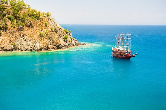 Boat Tour on the Beautiful Bays of Kemer and Phaselis