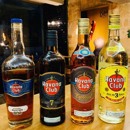 Sélection de rhum Havana