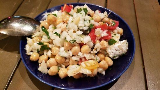 バカリャウとヒヨコ豆のサラダ(900円)