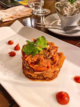 Crabe Farci aux épices des caraïbes