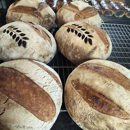 Isle of Muck, UK: Fresh Sourdough Breads