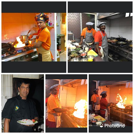 Our kitchen staff since 2002, amazing talent ...