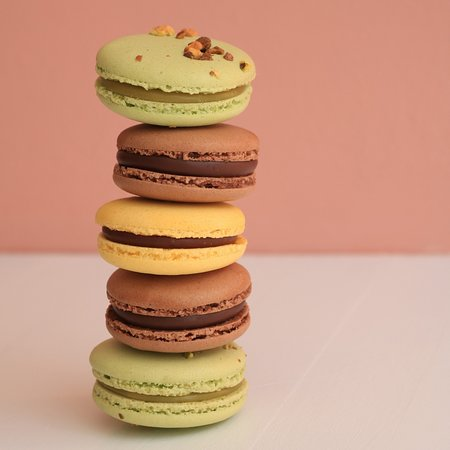3 Flavour French Macarons