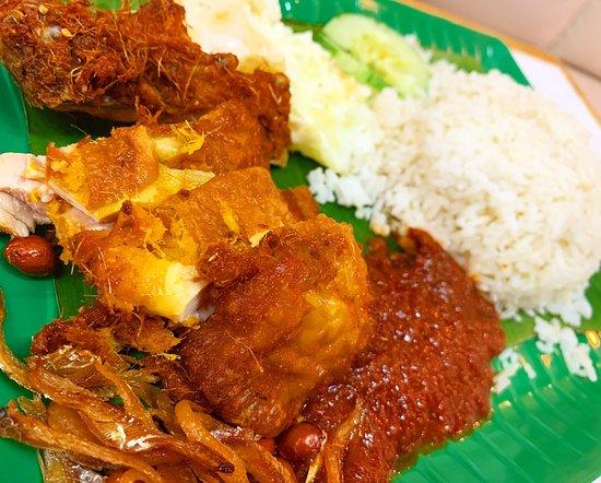 Johor Bahru District, Malaysia: Nasi lemak