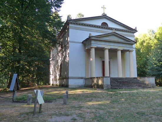 Ludwigslust Schlossgarten, Helena Paulowna Mausoleum by French arch. Joseph Ramée 1804-1806 (2)