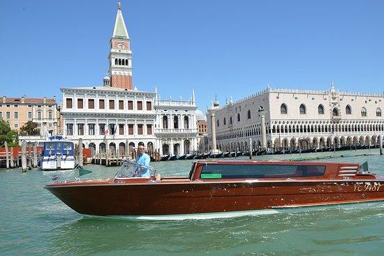 Vom Flughafen Venedig nach Venedig...