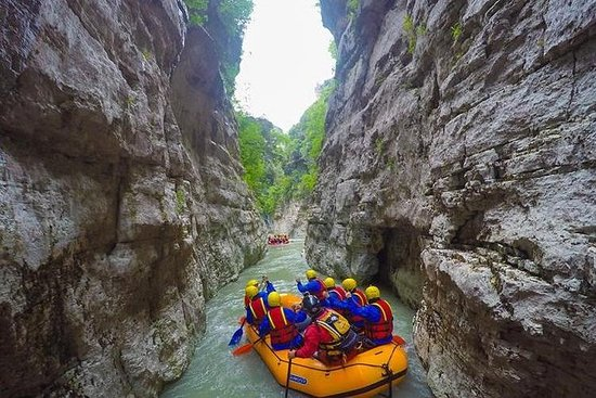 Full-Day Canyon Trip with Rafting in...