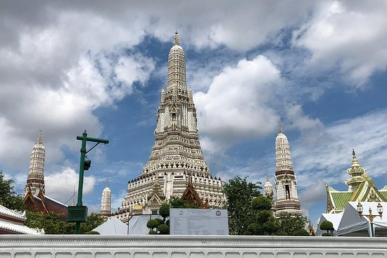 Фотография Wat Arun and National Museum of Royal Bargues Charter Boat by Supatra