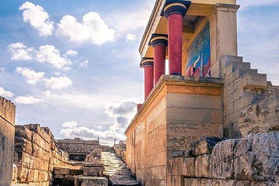 Palacio y museo VIP de Knossos con cata...