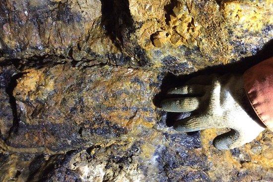 Cavern Tour with Blue John Stone Polishing Activity