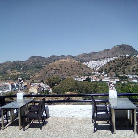 Alora, Espanja: Terraza Restaurante El Mirador de Álora