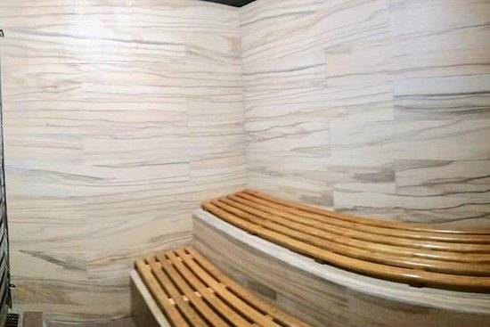 Wellness Day: sauna massage meal chiropractic colonic and Mayan herbs