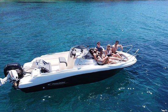 Louez un SpeedBoat à Santorin avec...