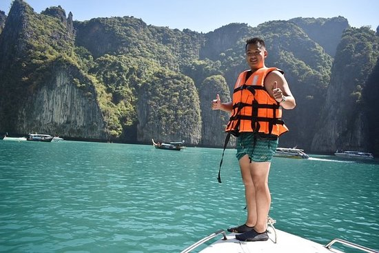 Phi Phi Islands Speedboat Day Tour from...