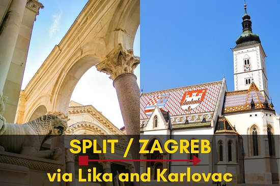 Split-Zagreb one-way private guided...