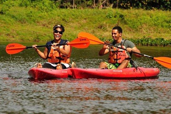 Ziplining and Kayaking Experience in...
